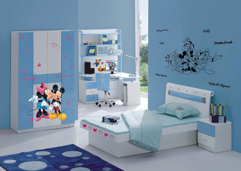 Stickers géant Mickey et Minnie Disney