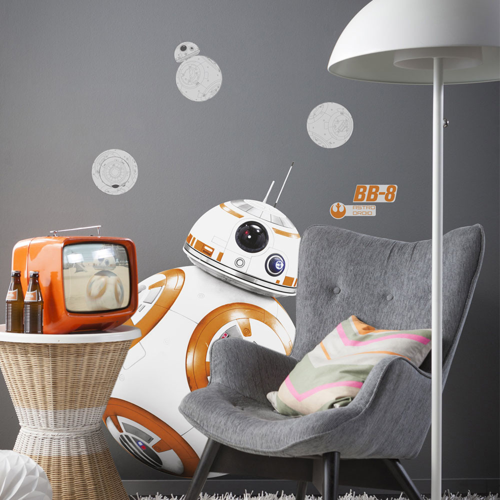 Stickers géant BB-8 Star Wars