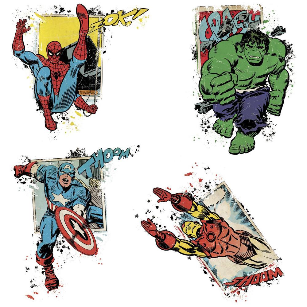 Stickers Avengers Comics Marvel
