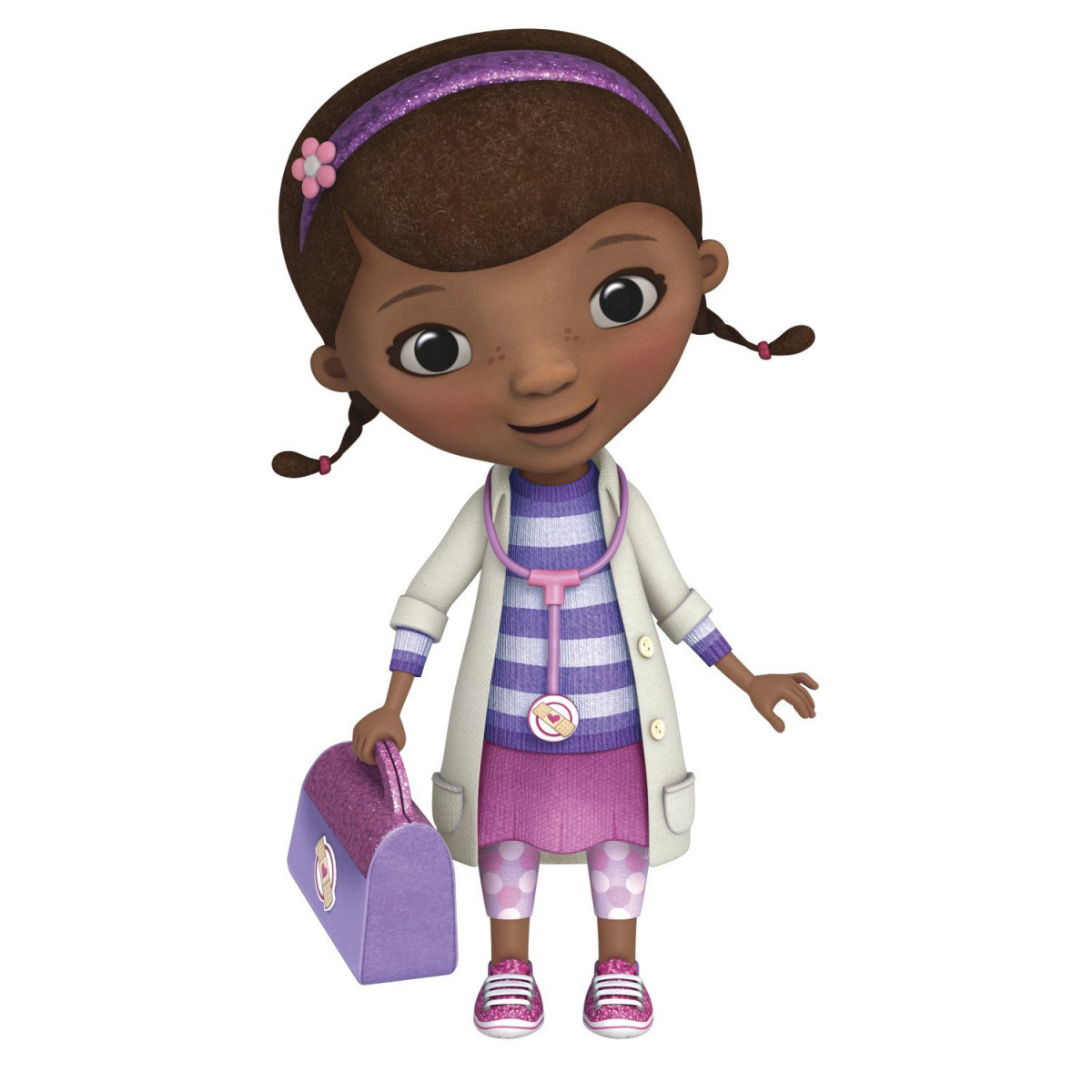 Stickers géant Docteur la Peluche Disney Junior