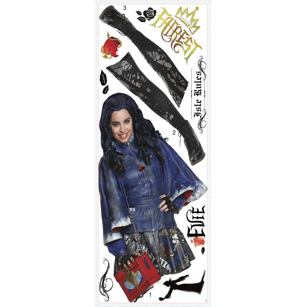 Stickers Evie Les Descendants Disney