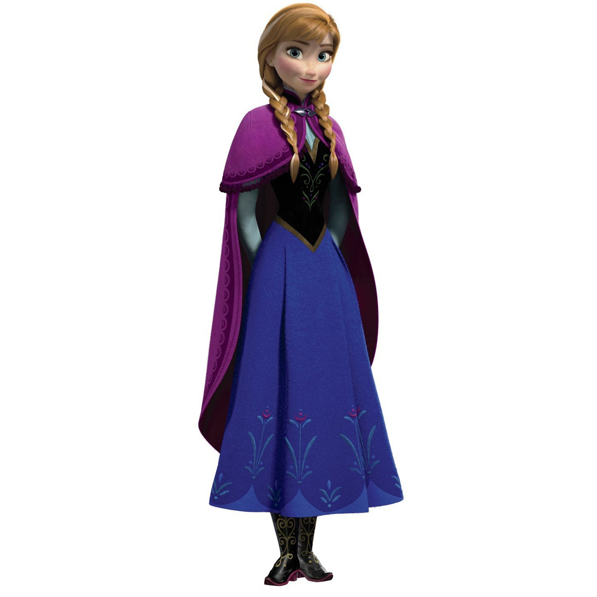 Sticker géant Anna La Reine des Neiges Disney Frozen