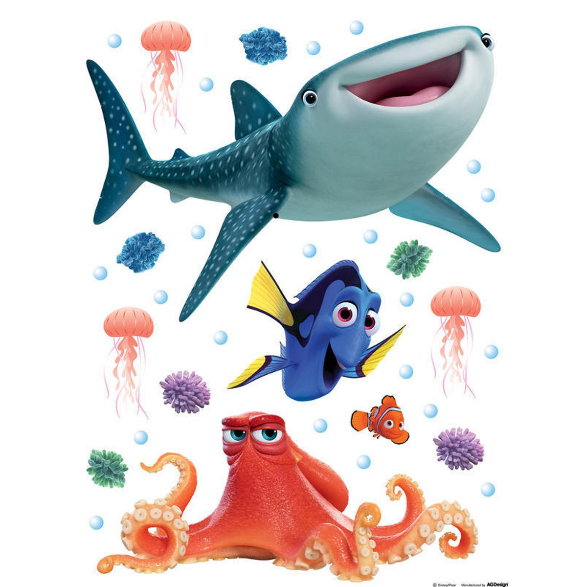 Stickers géant Dory Disney