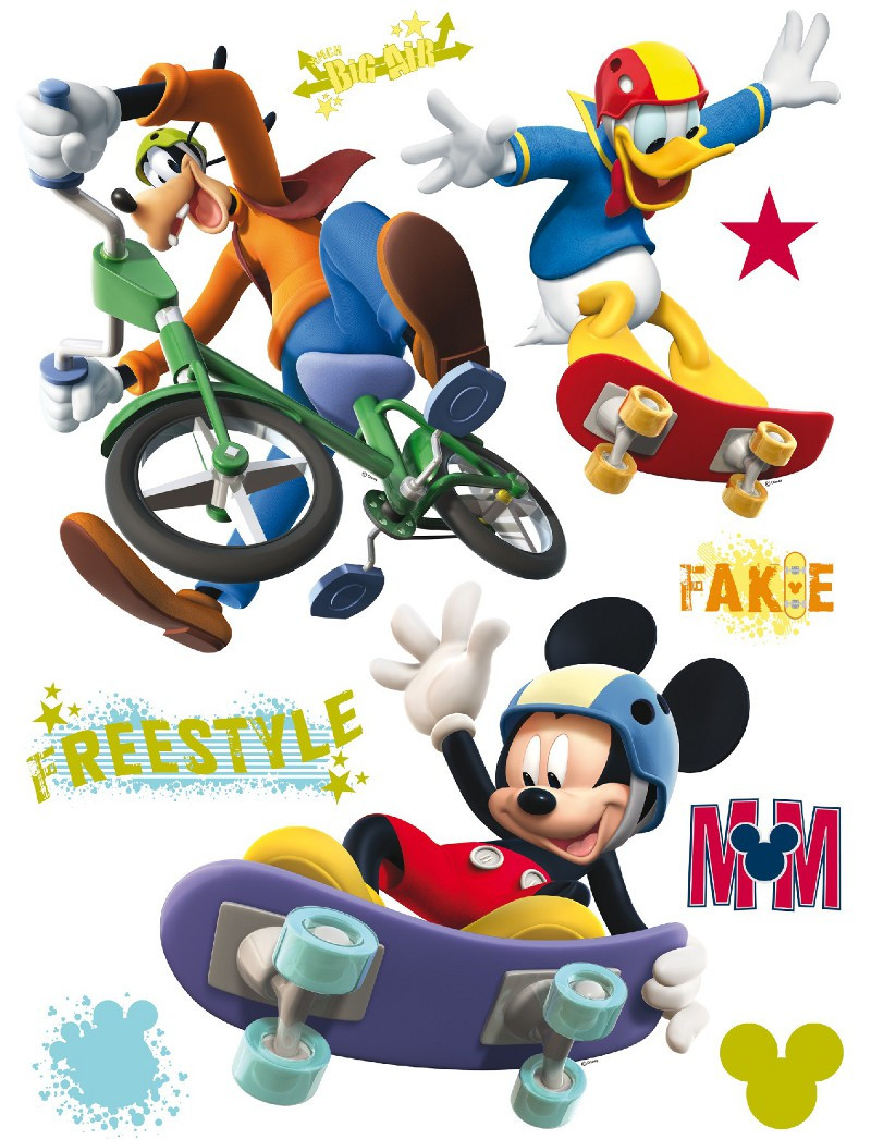 Stickers géant Mickey Freestyle Disney