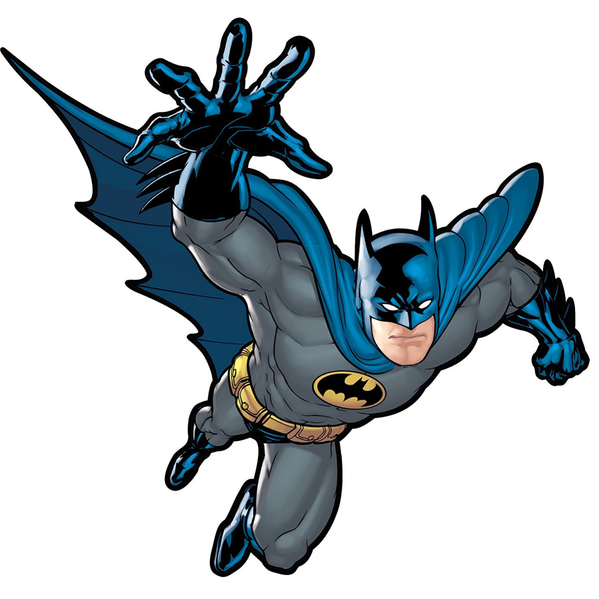 Sticker géant repositionnable Batman le gardien de Gotham DC Comics  68,6CM X 101,6CM