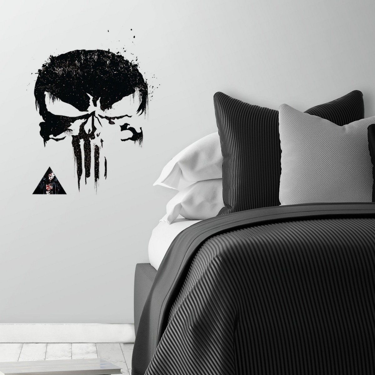 Stickers Marvel The Punisher exmple deco