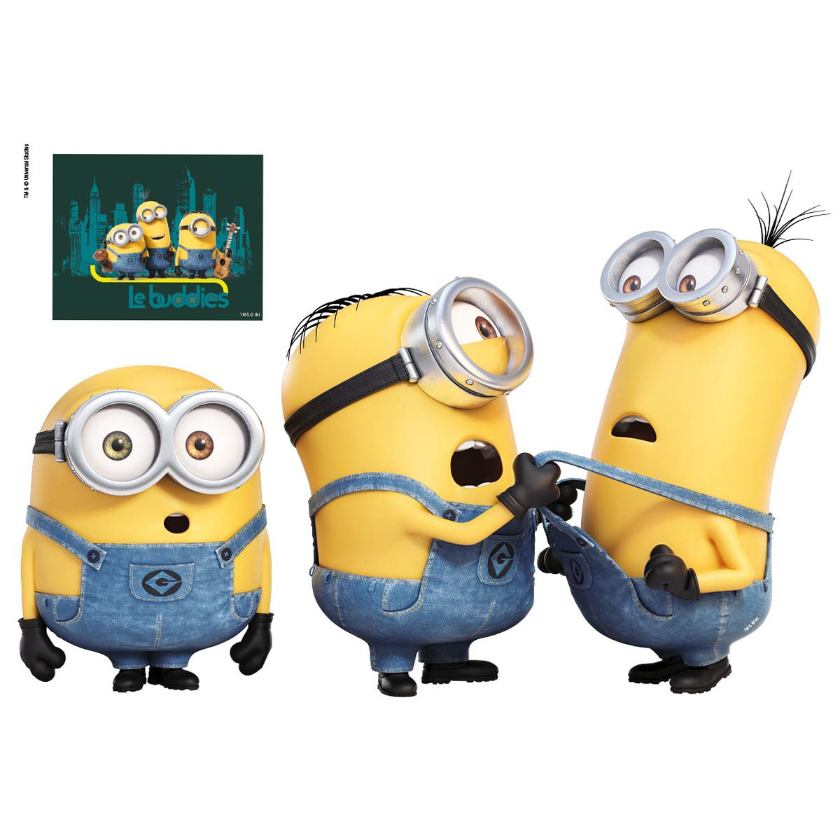 Stickers geant Relax Les Minions