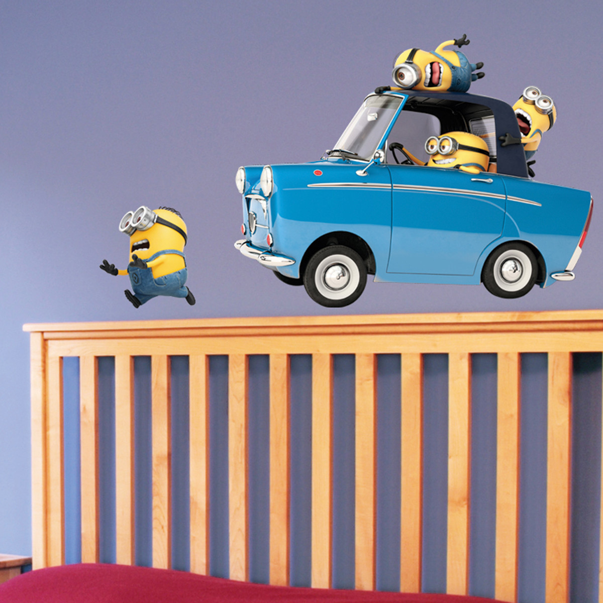 Stickers geant Car Les Minions