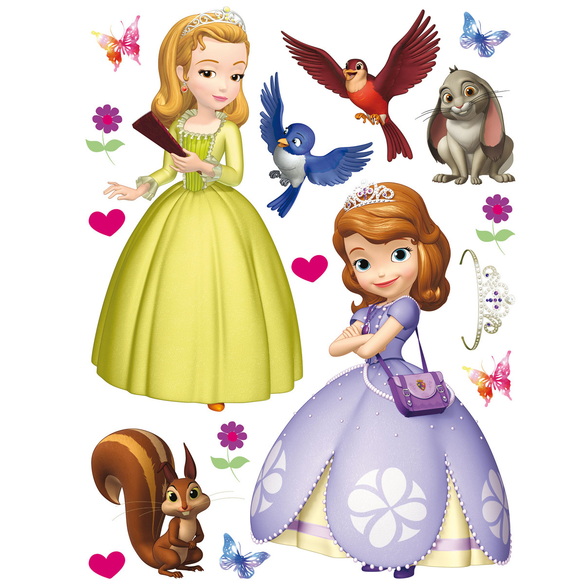 Stickers géant Princesse Sofia Disney