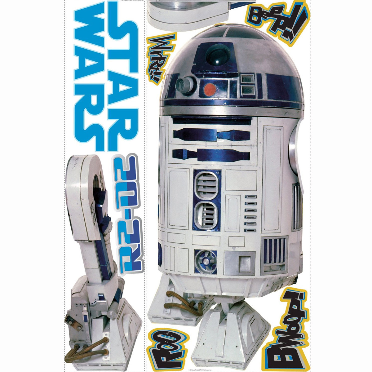 Stickers Géant R2D2 Star Wars