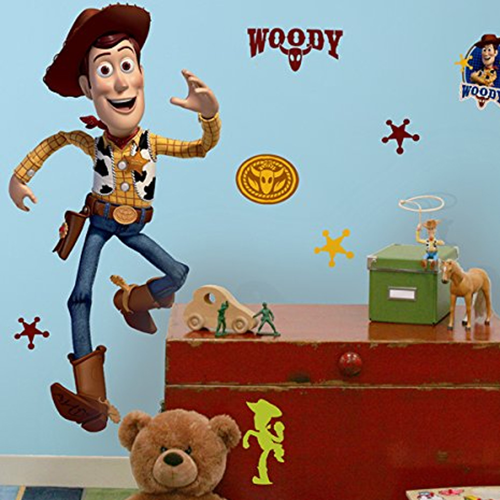 Stickers géant Woody Toy Story Disney
