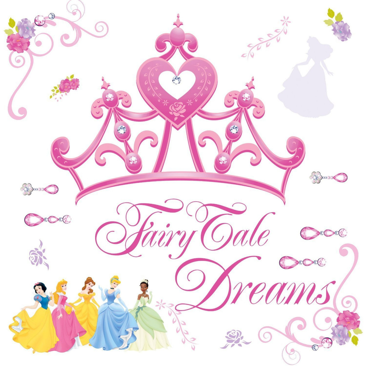 Stickers Diadème de Princesse Disney