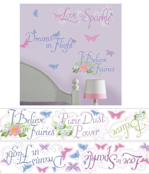 Stickers phrase Clochette et le Secret des fées Disney Fairies