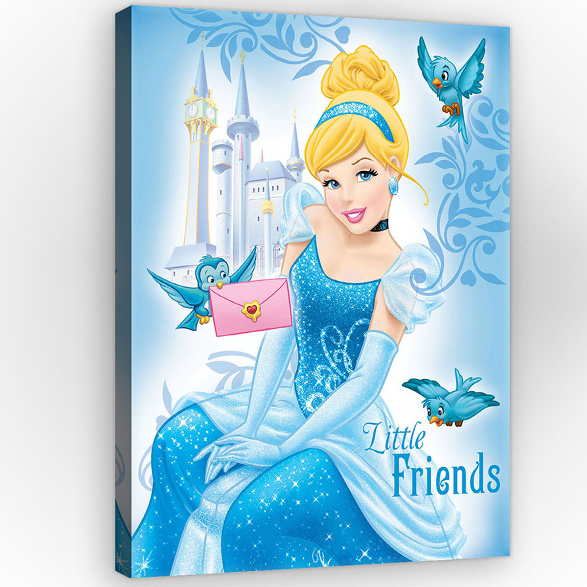 Tableau Cendrillon Disney Princesse - 60 x 40 cm