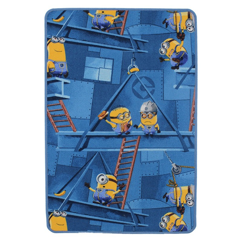 Tapis Factory Blue Minions