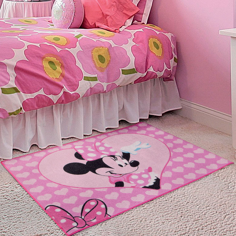 Tapis Minnie Mouse Hello Disney