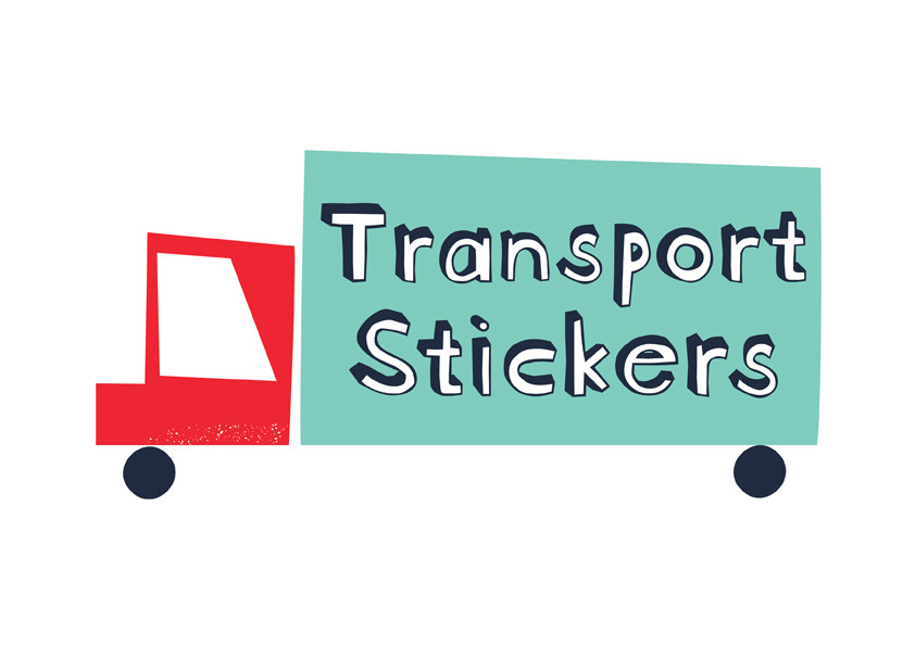 61 Stickers enfants Modes de transport