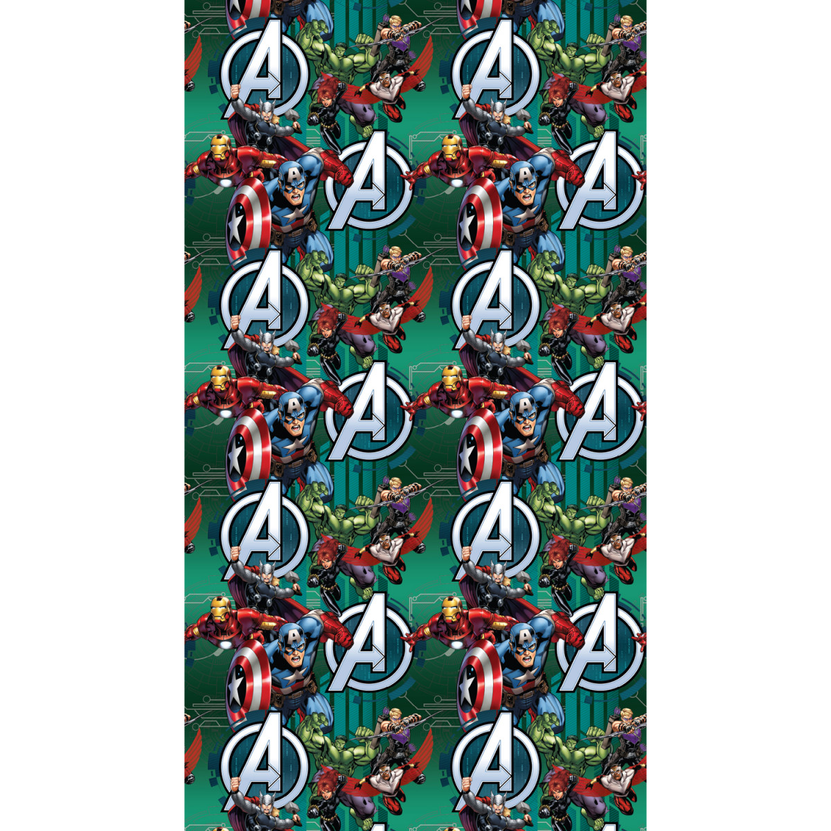 Rideau occultant Taille L Avengers Marvel