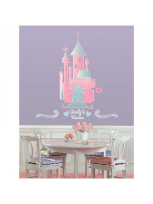 Stickers Château Princesse Disney
