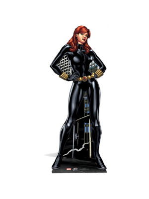 Figurine en carton Black Widow Marvel H 160 CM