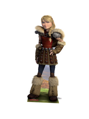 Figurine en carton Astrid Dragon H 166 CM