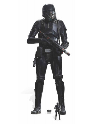 Figurine en carton taille réelle Deathtrooper Star Wars Rogue one