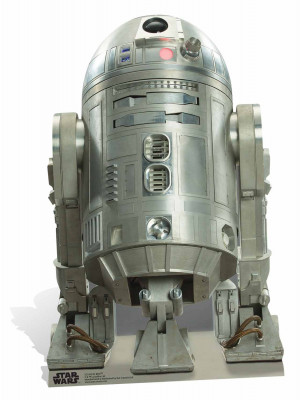 Figurine en carton taille réelle R2-BHD Star Wars Rogue one