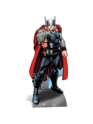 Figurine en carton Thor Marvel