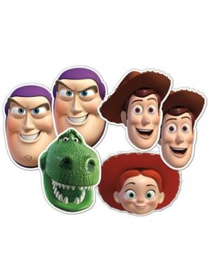 Lot de 6 Masques Toy Story Disney