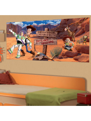 Poster géant Toy Story Western Disney intisse 202X90 CM