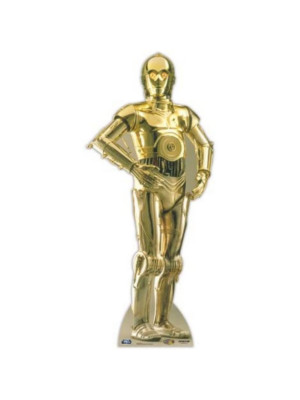 Figurine en Carton C3PO Star Wars H 197 CM