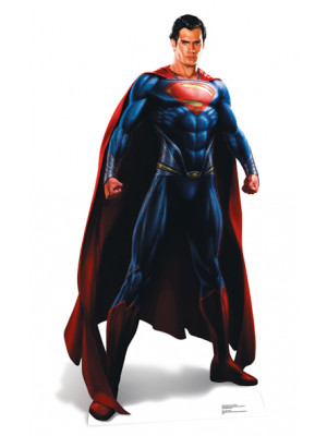 Figurine en carton taille réelle Superman Man of Steel H 187 CM