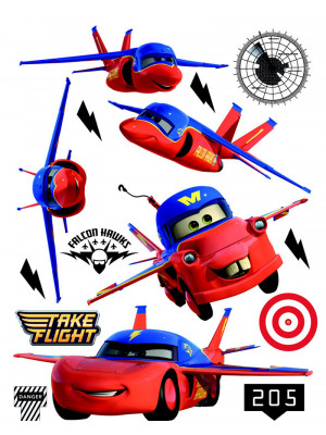 Stickers géant Planes Flash McQueen Disney
