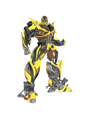 Sticker geant repositionnable Bumblebee Transformers  68,6CM X 101,6CM