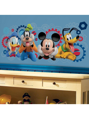 6 stickers mickey mouse et ses amis disney sticker sur b b gavroche - Mickey mouse et ses amis ...