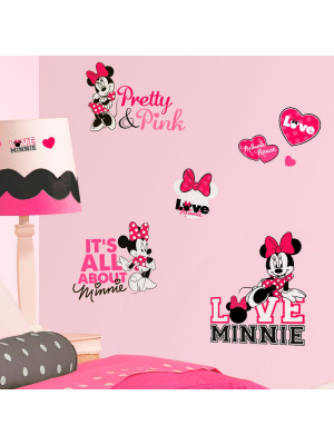 Stickers Phrases Minnie Mouse Disney