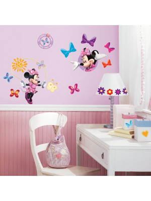 33 Stickers Minnie Mouse Disney