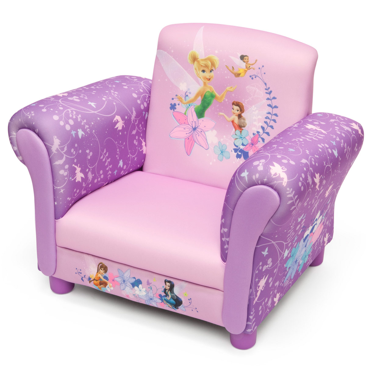 fauteuil club design f e clochette disney fairies chez bebe gavroche. Black Bedroom Furniture Sets. Home Design Ideas