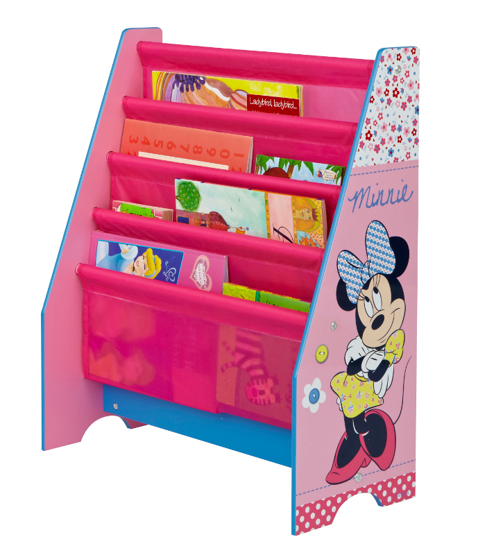 neuf meuble range livre minnie mouse disney ebay. Black Bedroom Furniture Sets. Home Design Ideas