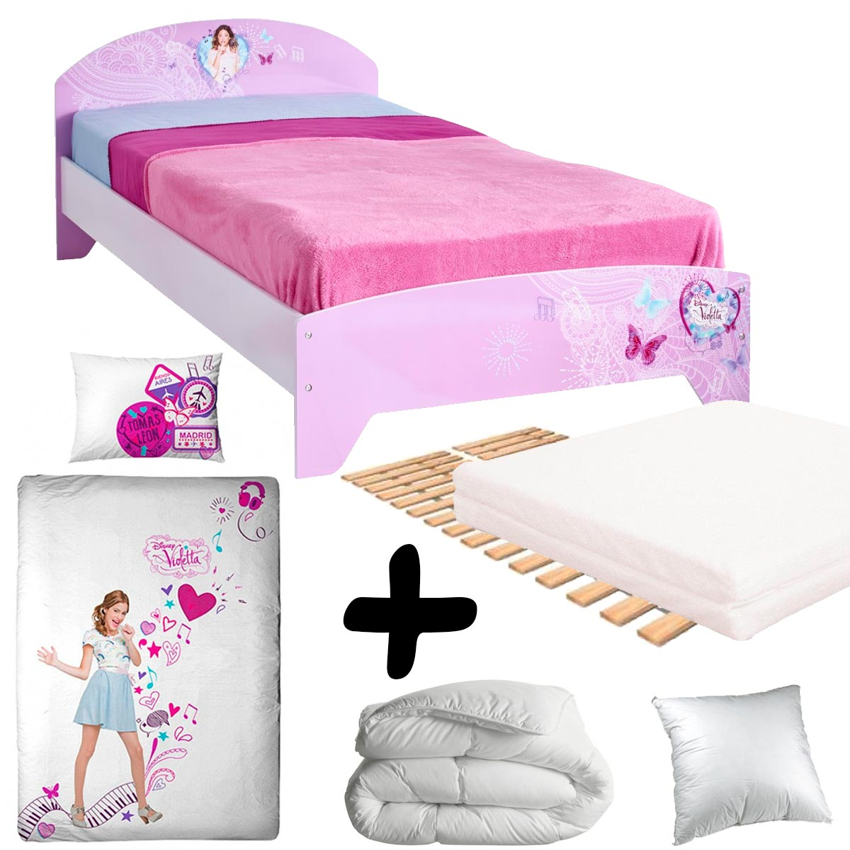ordinary conforama matelas 1 personne 14 pack complet luxe lit violetta disney channel 190 90. Black Bedroom Furniture Sets. Home Design Ideas