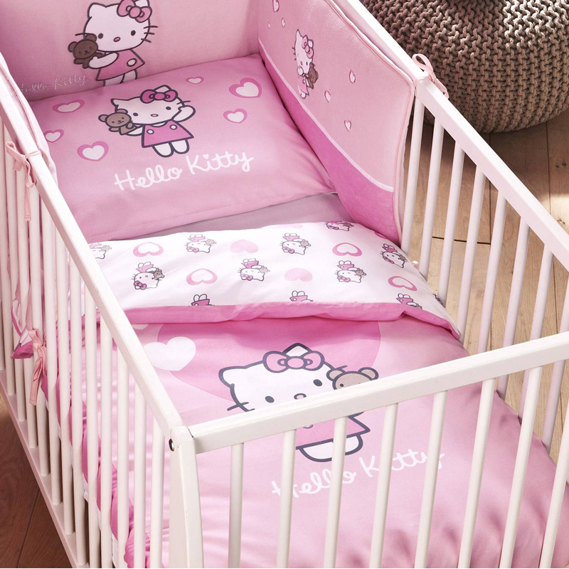 housse de couette hello kitty tous les prix avec le. Black Bedroom Furniture Sets. Home Design Ideas
