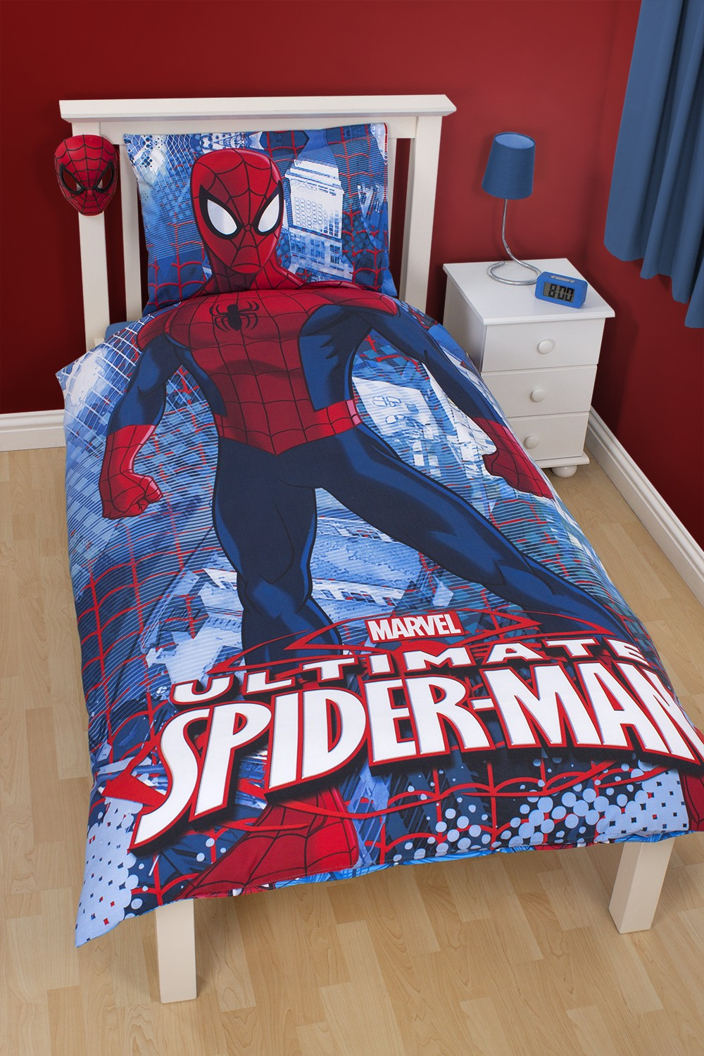 parure lit spiderman. Black Bedroom Furniture Sets. Home Design Ideas