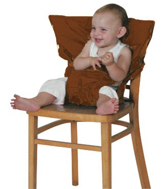 Neuf si ge nomade universel sack 39 n seat chocolat kiddiwinks ebay - A quel age bebe tient assis dans une chaise haute ...