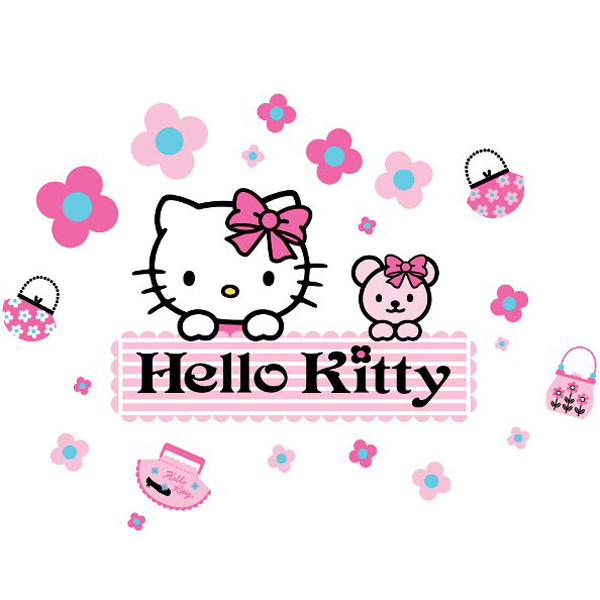 Details about hello kitty giant stickers