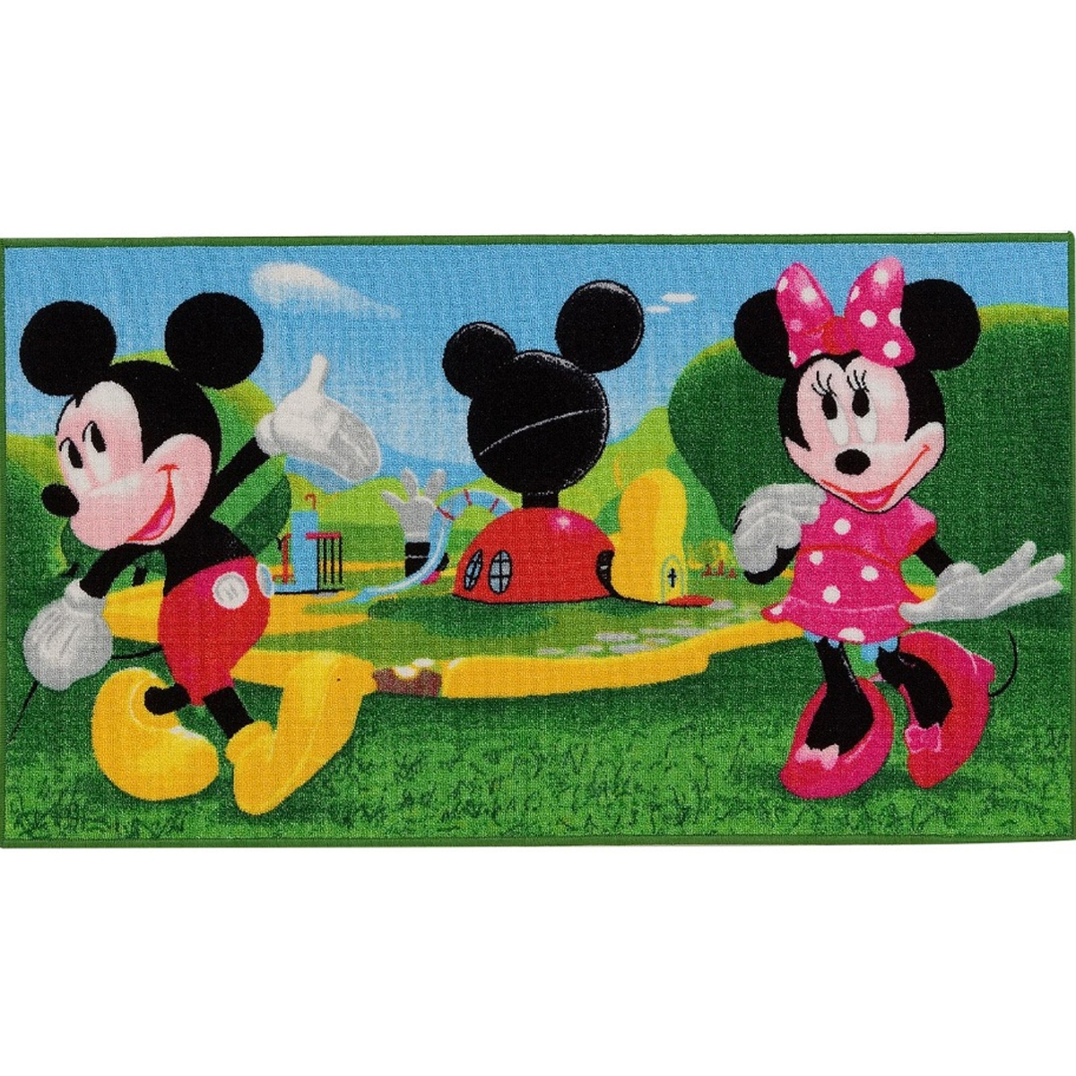 New 28 minnie mouse area rug unavailable listing on for Decoration maison mickey