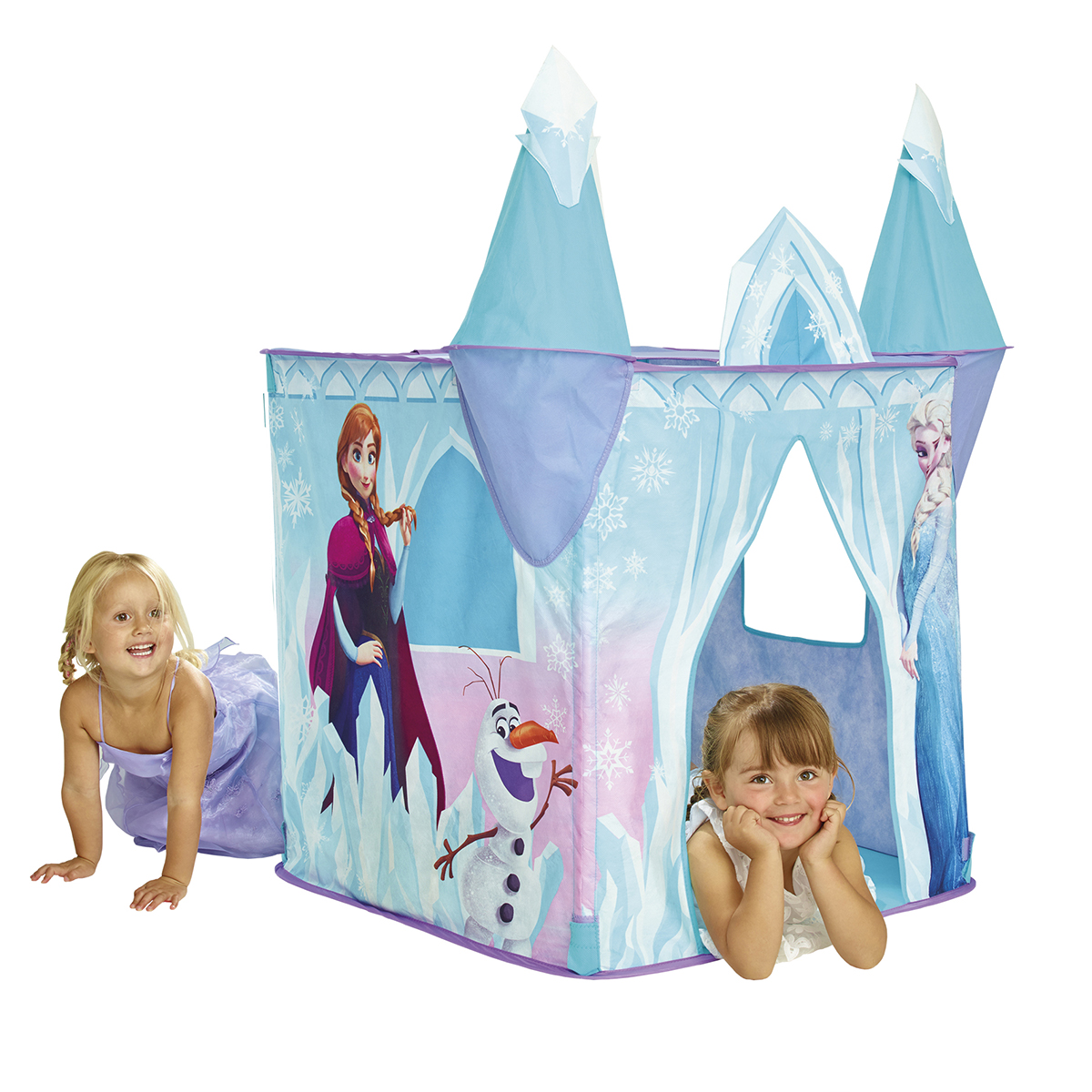 tente de jeux ch teau la reine des neiges disney ebay. Black Bedroom Furniture Sets. Home Design Ideas