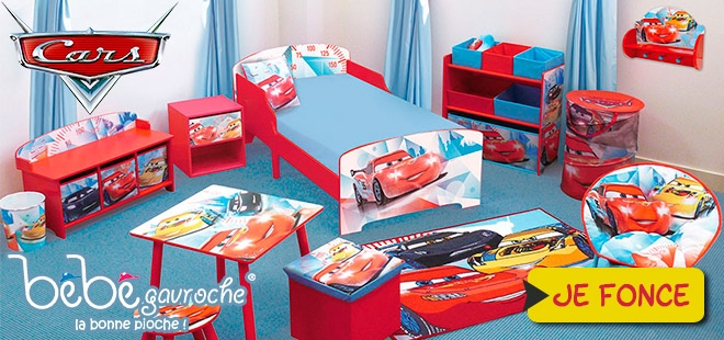 Deco chambre cars pr l vement d for Decoration chambre cars