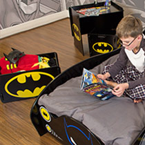 Chambre gar on super h ros d co super h ros sur bebegavroche - Deco chambre super heros ...