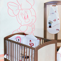 Chambre Minnie Disney
