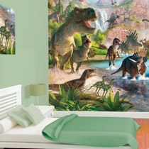 Chambre gar on th me d co th me gar on sur bebegavroche - Deco chambre dinosaure ...
